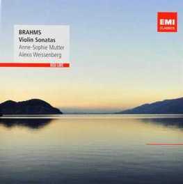 VIOLIN SONATAS 1-3 ANNE-SOPHIE MUTTER J. BRAHMS, CD