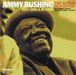 SCENE WITH ZOOT SMITH & AL COHEN JIMMY RUSHING, CD