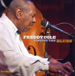 SINGING THE BLUES FREDDY COLE, CD