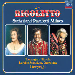 RIGOLETTO LSO/BONYNGE Audio CD, G. VERDI, CD