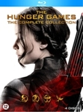 Hunger games 1-4, (Blu-Ray)
