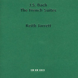 FRENCH SUITES 1-6 W/KEITH JARRETT Audio CD, J.S. BACH, CD