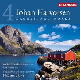 ORCHESTRAL WORKS VOL.4 BERGEN P.O./NEEME JARVI J. HALVORSEN, CD