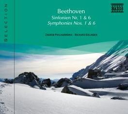 SYMPHONIES NO.1 & 6 ZAGREB P.O./EDLINGER L. VAN BEETHOVEN, CD