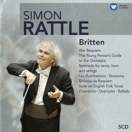 WAR REQUIEM SIMON RATTLE Audio CD, B. BRITTEN, CD