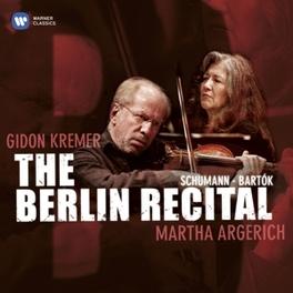 BERLIN RECITAL KREMERATA BALTICA/GIDON KREMER Audio CD, MARTHA ARGERICH, CD
