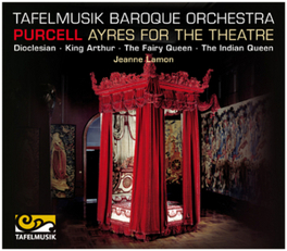 AYRES FOR THE THEATRE TAFELMUSIK BAROQUE ORCHESTRA H. PURCELL, CD