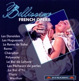 BELLISSIMO FRENCH OPERA SALIERI/MASSENET/BIZET/GOUNOD/LALO... V/A, CD
