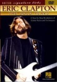 SOLO YEARS NTSC/INSTRUCTION DVD DVD, ERIC CLAPTON, DVD