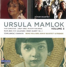 FIVE CAPRICCIOS SONAR QUARTETT U. MAMLOK, CD