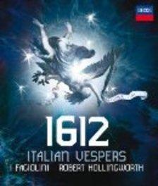 1612 VESPERS ROBERT HOLLINGWORTH//*AUDIO BLU RAY* I FAGIOLINI, Blu-Ray