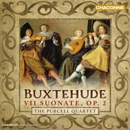 VII SUONATE OP.2 PURCELL QUARTET D. BUXTEHUDE, CD