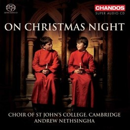 ON CHRISTMAS NIGHT A.NETHSINGHA CHOIR OF ST.JOHNS COLLEGE, CD