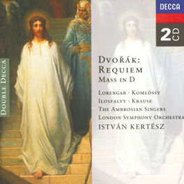 REQUIEM & MASS IN D LORENGAR/KRAUSE/LSO/PRESTON A. DVORAK, CD