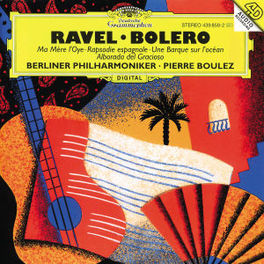 BOLERO/RAPS/ESP BP/BOULEZ Audio CD, M RAVEL, CD