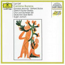 CARMINA BURANA JANOWITZ/STOLZE/CHOR&ORCH.DEUTSCHEN OPER Audio CD, C. ORFF, CD