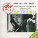 VIOLIN CONCERTOS W/CHUNG, MONTREAL SYM.ORCH., CHARLES DUTOIT