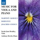 MUSIC FOR VIOLA AND PIANO A.HEWITT