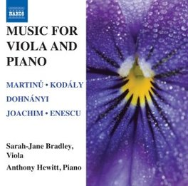 MUSIC FOR VIOLA AND PIANO A.HEWITT BRADLEY, SARAH-JANE, CD