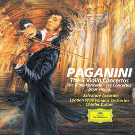 VIOLIN CONCERTOS W/ACCARDO, LONDON SYMPHONY ORCHESTRA, CHARLES DUTOIT Audio CD, N. PAGANINI, CD