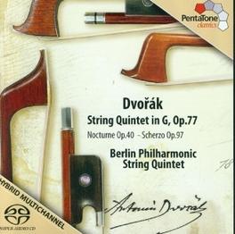 STRING QUINTET IN G OP.77 BERLINER PHIL.STRING QUARTET A. DVORAK, CD
