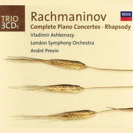 COMPLETE PIANO CONCERTOS LONDON S.O./ANDRE PREVIN S. RACHMANINOV, CD