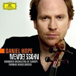 VIOLIN CONCERTO OP.64/OCT CHAMBER ORCH.OF EUROPE/THOMAS HENGELBROCK/DANIEL HOPE Audio CD, MENDELSSOHN-BARTHOLDY, F., CD