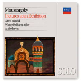 PICTURES AT AN EXHIBITION -BRENDEL/WIENER PHILHARMONIC/ANDRE PREVIN Audio CD, M. MOUSSORGSKY, CD