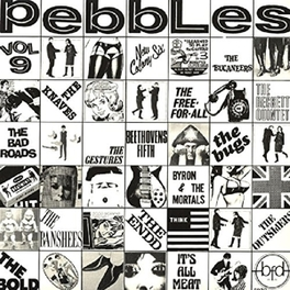 PEBBLES 9 GARAGE FROM SOUTH CALIFORNIA: WAGNER/CARETAKERS/BUDDHAS V/A, LP