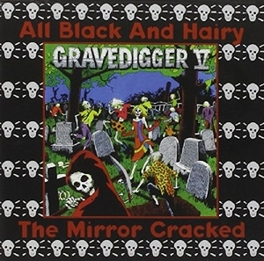 ALL BLACK AND HAIRY GRAVEDIGGER FIVE, CD