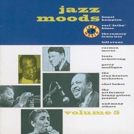 JAZZ MOODS 5 LIONEL HAMPTON/DEXTER GORDON Audio CD, V/A, CD