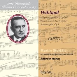 PIANO CONCERTOS NOS.1&2/K HELSINGBORG SYMPHONY/A. MANZE A. WIKLUND, CD