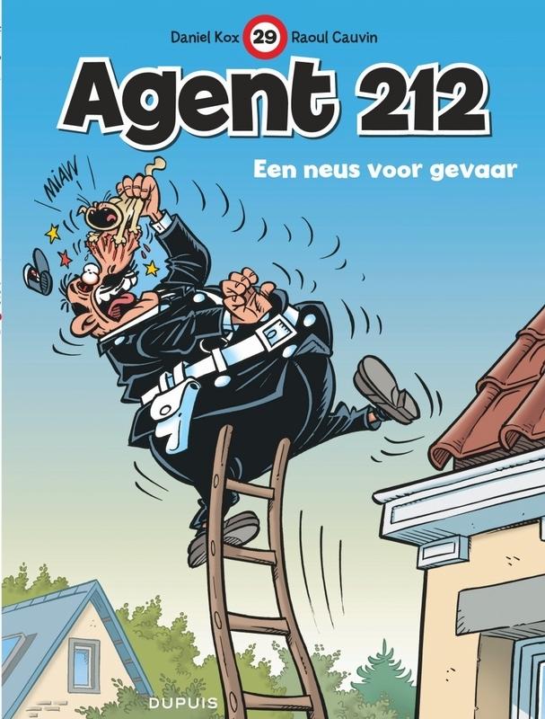 AGENT 212 29. EEN NEUS VOOR GEVAAR AGENT 212, KOX, DANIËL, CAUVIN, RAOUL, Paperback