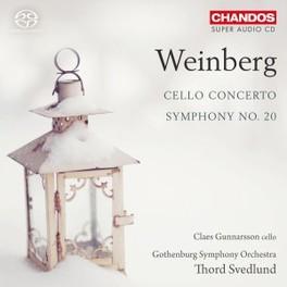 ORCHESTRAL WORKS, VOL.4 GUNNARSSON/GOTHENBURG SYMPHONY M. WEINBERG, CD