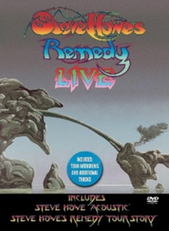 REMEDEY LIVE -DIGI- STEVE HOWE, DVD