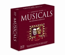 GREATEST EVER MUSI..-55TR ..MUSICALS//W/LIZA MINELLI/JUDY GARLAND/MICHAEL BALL/AO Audio CD, V/A, CD