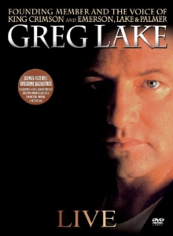 LIVE -DIGI- DG GREG LAKE, DVD