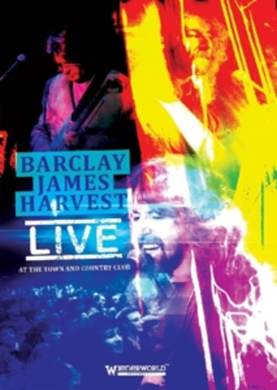 LIVE AT THE TOWN AND.. .. COUNTRY CLUB, RECORDED 1992 BARCLAY JAMES HARVEST, DVD