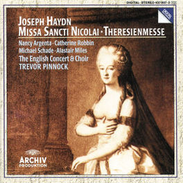 MISSA SANCTI NICOLAI ARGENTA ENGLISH CONCERT PINNOCK Audio CD, J. HAYDN, CD