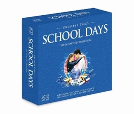 GREATEST EVER SCHOOL DAYS W/CYNDI LAUPER/BOBBY BROWN/ABC/POINTER SISTERS/DEBARGE Audio CD, V/A, CD