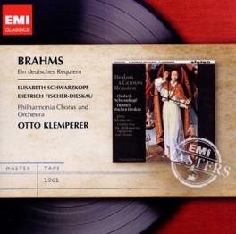 EIN DEUTSCHES REQUIEM OTTO KLEMPERER J. BRAHMS, CD