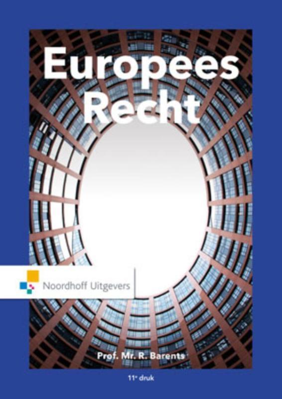 Europees recht R. Barents, Hardcover