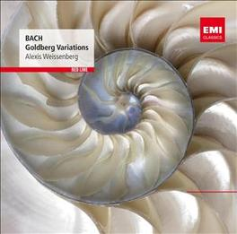 GOLDBERG VARIATIONS ALEXIS WEISSENBERG J.S. BACH, CD