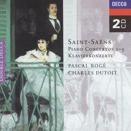 PIANO CONCERTOS 1-5 W/PASCAL ROGE-PIANO Audio CD, SAINT-SAENS, C., CD