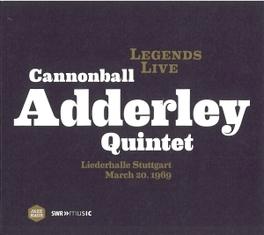 LEGENDS LIVE-LIEDERHALLE CANNONB ADDERLEY QUINTET, DVD