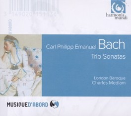 TRIO SONATAS LONDON BAROQUE C.P.E. BACH, CD