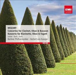 CONCERTOS FOR CLARINET, O KARAJAN/LEISTER/PIESK W.A. MOZART, CD