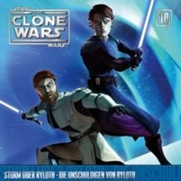 CLONE WARS 10 STURM UBER RYLOTH/DIE UNSCHULDIGEN VON RYLOTH AUDIOBOOK, CD