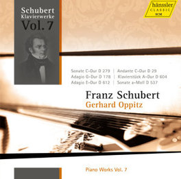 PIANO WORKS VOL.7 GERHARD OPPITZ F. SCHUBERT, CD