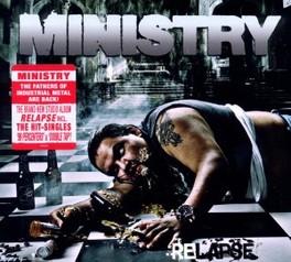 RELAPSE -LTD- LIMITED EDITION DIGIPACK W/BONUS TRACK MINISTRY, CD